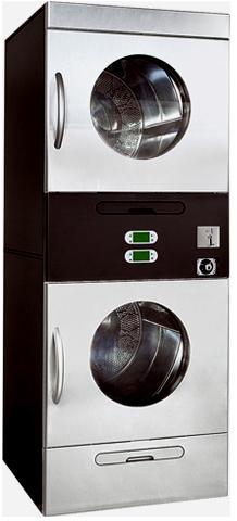 SLI-14D Обем 2x313 л Подгряване: електрическо, газ Капацитет 2 x 12,5 – 17,5 кг Диаметър барабан 2 x 762 мм Размери 791х936х2042 мм
